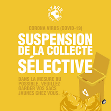 suspension collecte